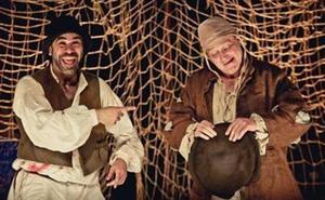 La comedia 'El pícaro Ruzante' llega este jueves al cine-teatro Balboa