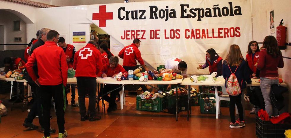 La campaña del Kilo anima a llenar el almacén de alimentos que gestiona Cruz Roja