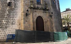 El lunes se instalará el andamio para las obras en la Iglesia de San Miguel