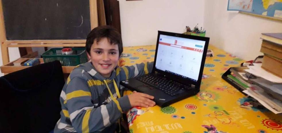 El alumno del Colegio El Rodeo, Sergio José Sánchez, galardonado con el Premio Mejor Lector Internacional