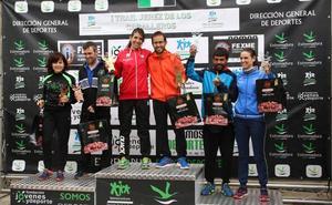 Daniel Remón y Beatriz González, vencedores del I Trail Jerez de los Caballeros- 'Sierra San José'