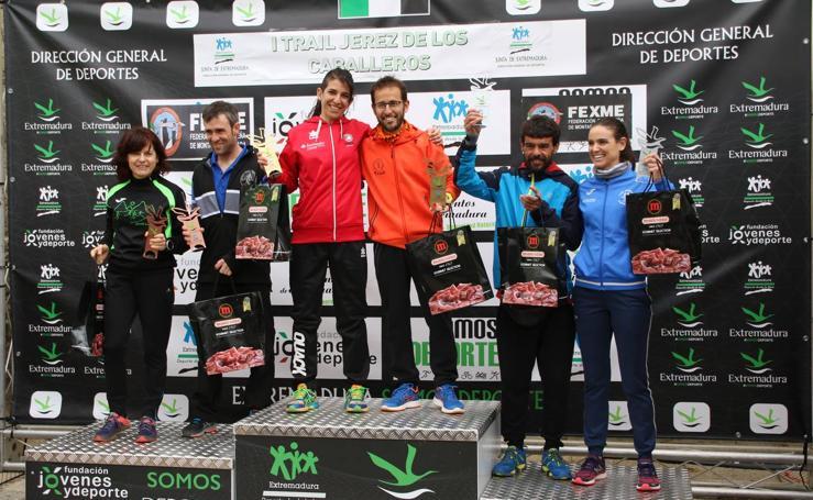 Éxito de participación en el I Trail Jerez de los Caballeros-Sierra San José