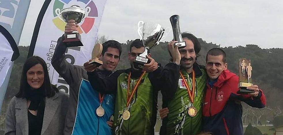 Manuel Gómez Lucas, subcampeón de España de Campo a través en Santander
