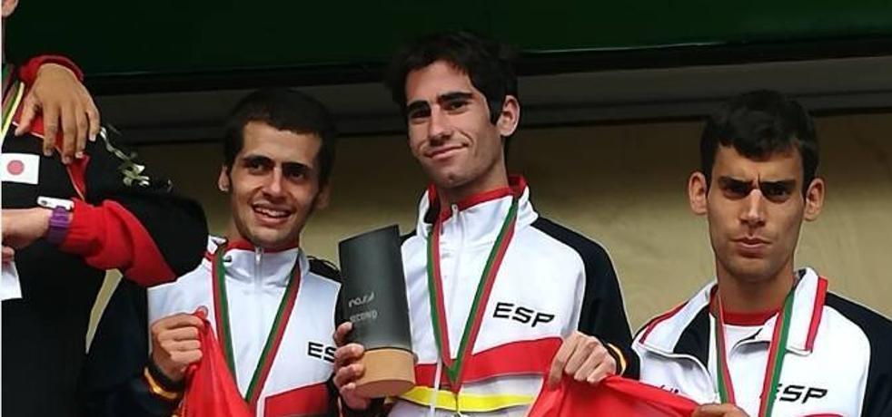 Manuel Gómez Lucas, en el Campeonato Europeo de Atletismo en Pista Cubierta en Estambul