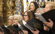 La iglesia de San Bartolomé acoge una nueva edición del tradicional 'Concierto Sacro' a cargo de la Coral jerezana