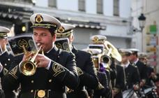 Sones solidarios anuncian la Semana Santa jerezana en el VI 'Certamen de Bandas Solidario'