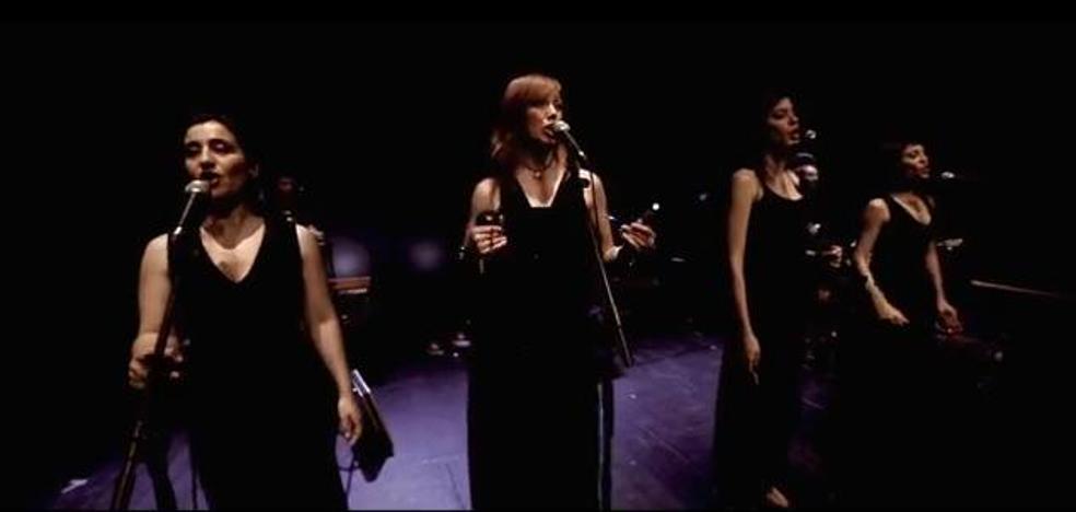 Acetre ofrece, este viernes en Jerez, su espectáculo 'Cuando cantan las mujeres'