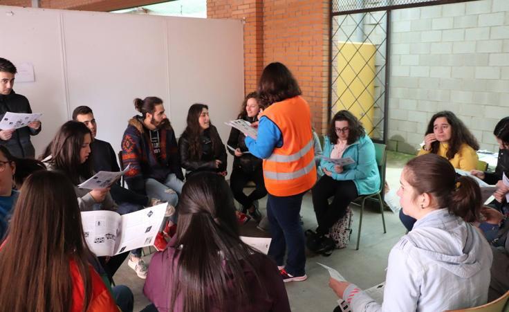 El Instituto El Pomar celebra una gran convivencia transnacional con su proyecto Erasmus. FOTOS: Silvia Díaz y María Gamero