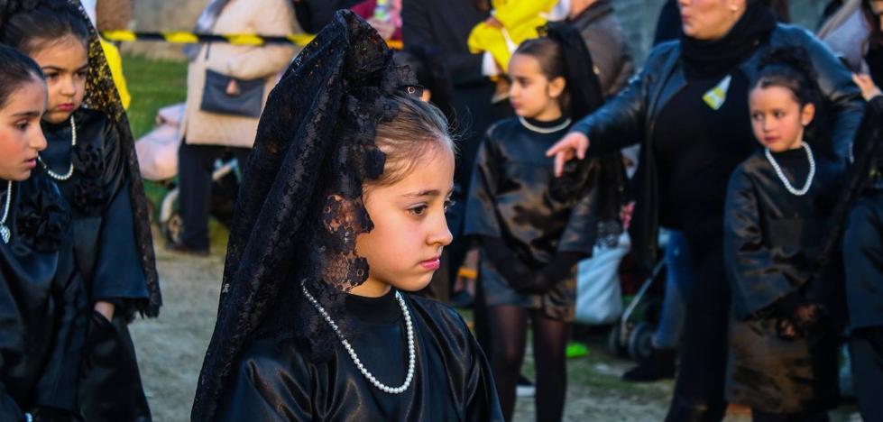 La Semana Santa Infantil del Colegio 'El Rodeo' sigue transmitiendo la profunda identidad de esta celebración