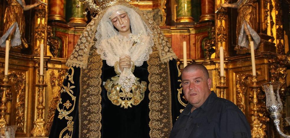 Luis María Herrera Caro, el artesano bordador de la Semana Santa Jerezana