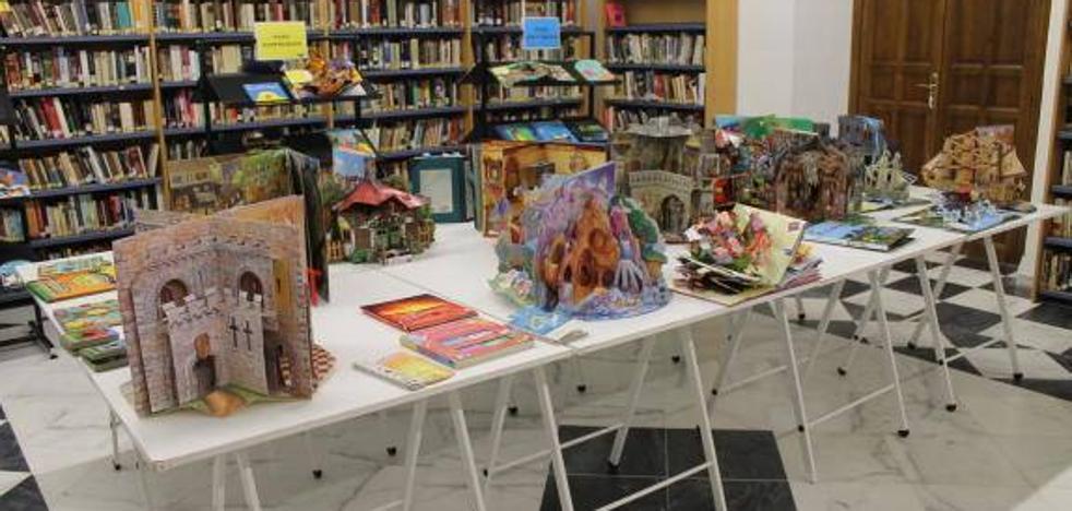 La Biblioteca 'Pepe Ramírez' acoge una exposición de libros troquelados esta semana