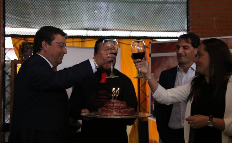 Guillermo Fernández Vara inaugura el XXX Salón del Jamón Ibérico