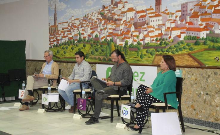 Debate electoral organizado por Jerez Plural