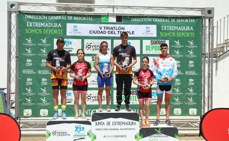 El Triatlón 'Ciudad del Temple' continúa consagrándose como una de las principales pruebas deportivas del municipio