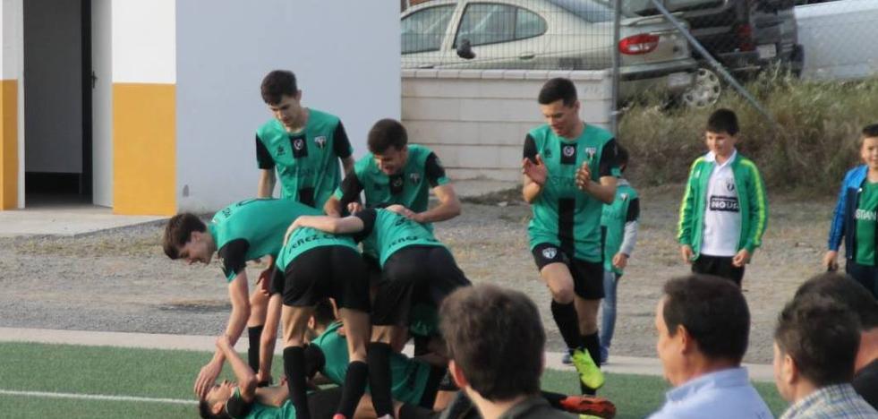 El equipo juvenil del Jerez inicia en positivo la eliminatoria para el ascenso