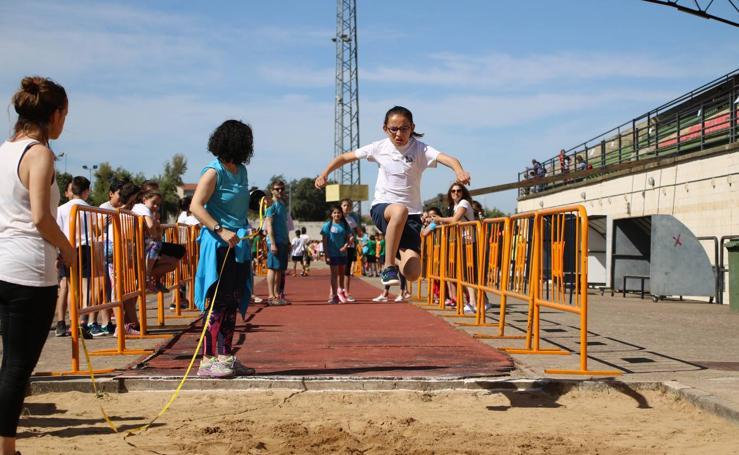 Jerez acoge la IV Convivencia Deportiva de Centros de Primaria