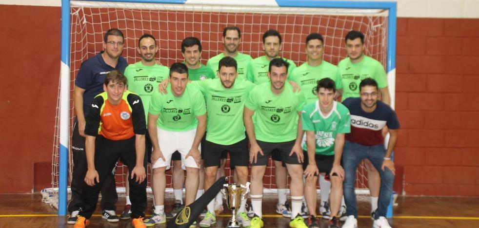 El equipo 'Talleres Lute' gana la Copa de Fútbol sala