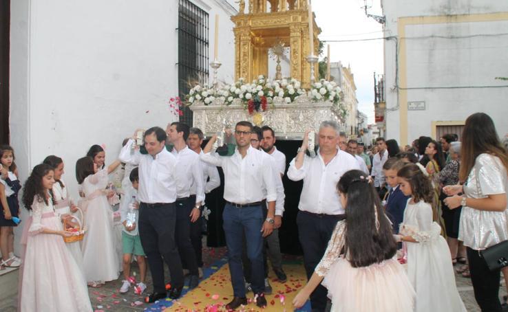Hermosa Procesión del Corpus Christi en Jerez de los Caballeros