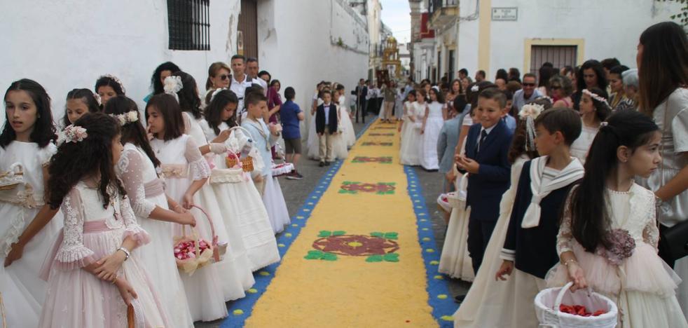 Hermosa y solemne celebración del Corpus Christi en Jerez de los Caballeros