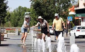 El verano deja máximas que rozan los 42 grados aunque el calor empieza a remitir este viernes