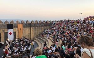 La Asociación Musical Jerez corona con su música el cierre del XVI Festival Templario