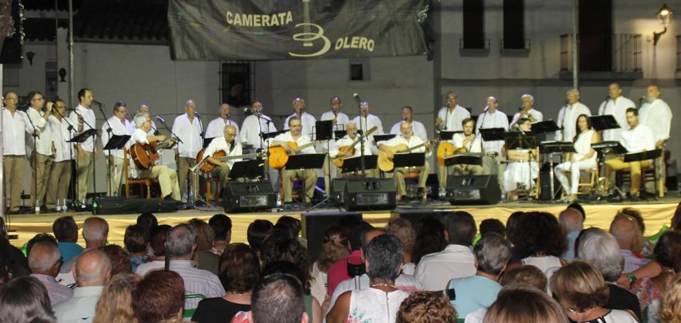 Camerata Bolero inicia su gira de verano el 26 de julio en Barcarrota