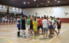El equipo 'Generación del 91' el torneo más popular del Fútbol sala enJerez, el Memorial 'Francisco José Rivera Montero'
