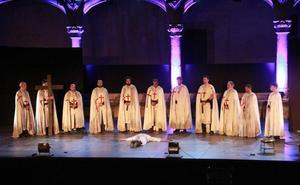 Gran acogida de 'El último templario de Xerez' en Alcántara
