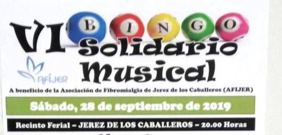 AFIJER celebra su VI Bingo solidario el sábado próximo, a las 20 horas en el recinto ferial