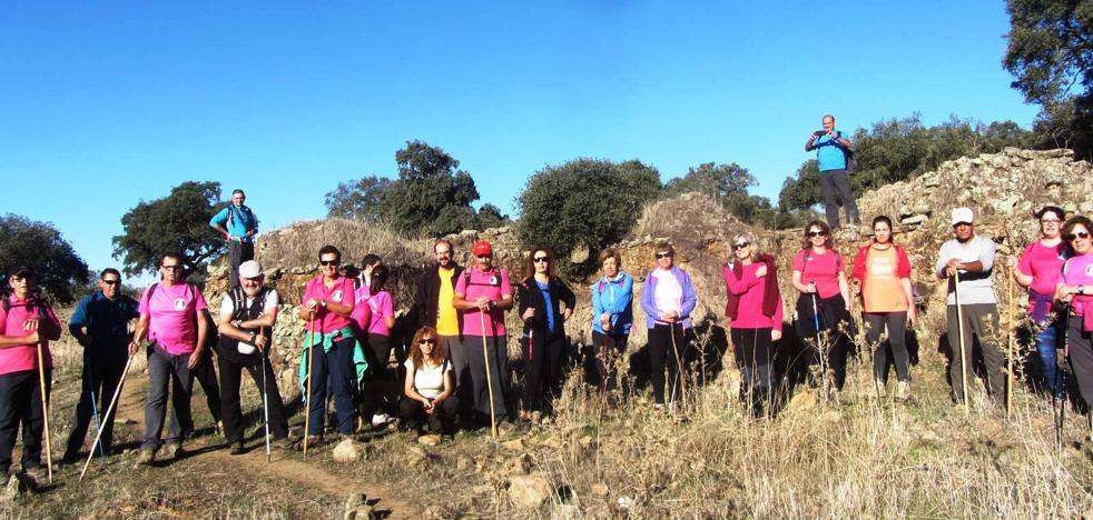 El Grupo senderista 'Las Chorreras' retoma su caminar con un amplio calendario de rutas este otoño