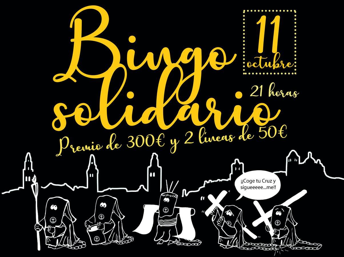 La Hermandad de Penitentes celebra este viernes, 11 de octubre, su I 'Bingo Solidario'