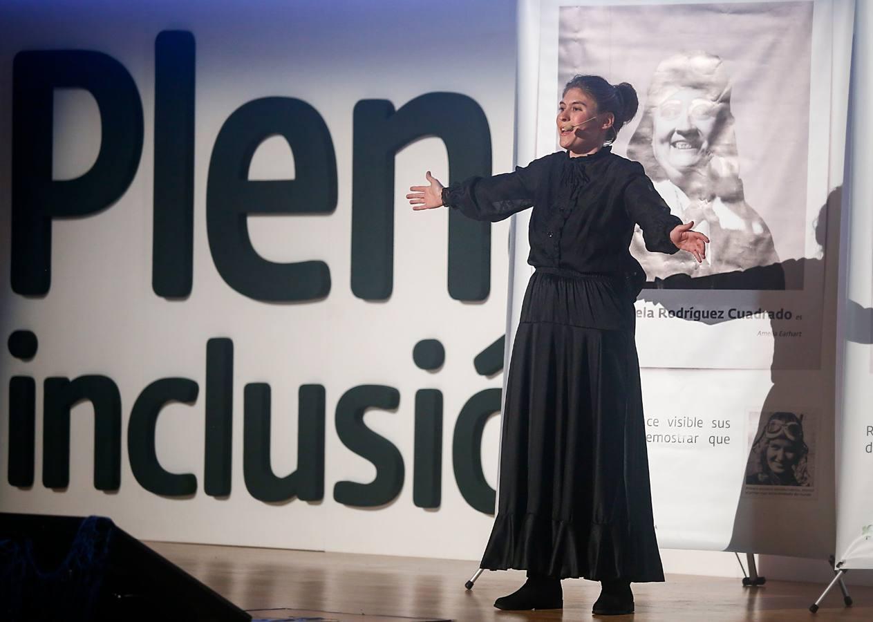 María Cacho,de Plena Inclusión Xerez, encarna el valor del proyecto 'Ellas en movimiento'