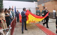 Reconocimiento en Jerez a la labor de la Guardia Civil en el Día de su Patrona y por el 175 aniversario de su fundación