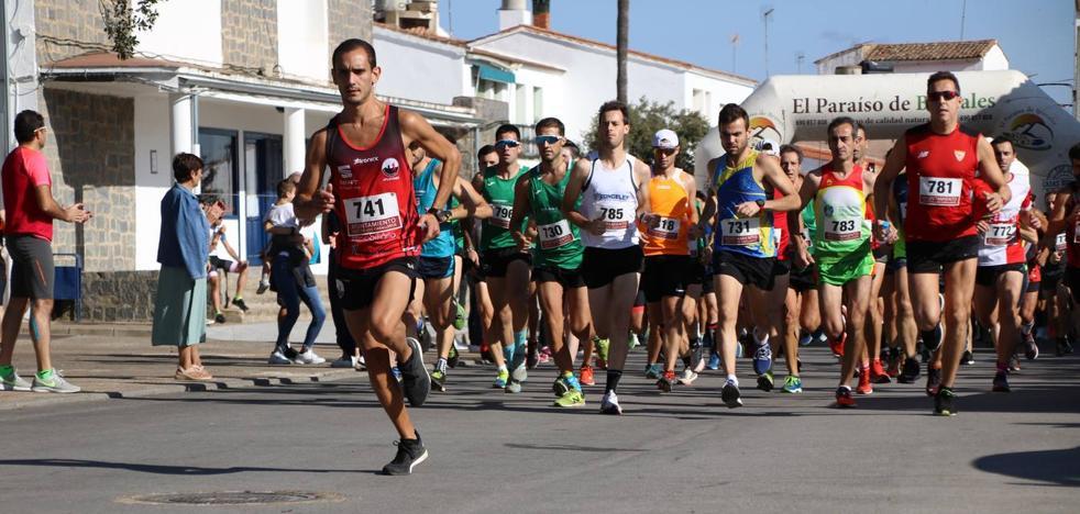 Celso Graciano y Estefanía Carretero, vencedores del III 'Cross Popular Valuengo'