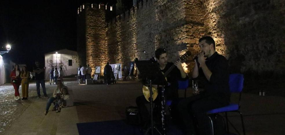 El magnífico patrimonio cultural y artístico de Jerez de los Caballeros ilumina su Noche en Blanco
