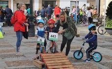 El centro de Jerez se llena de bicicletas