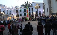 Jerez inaugura el Carnaval 2020 con el encendido del alumbrado carnavalero
