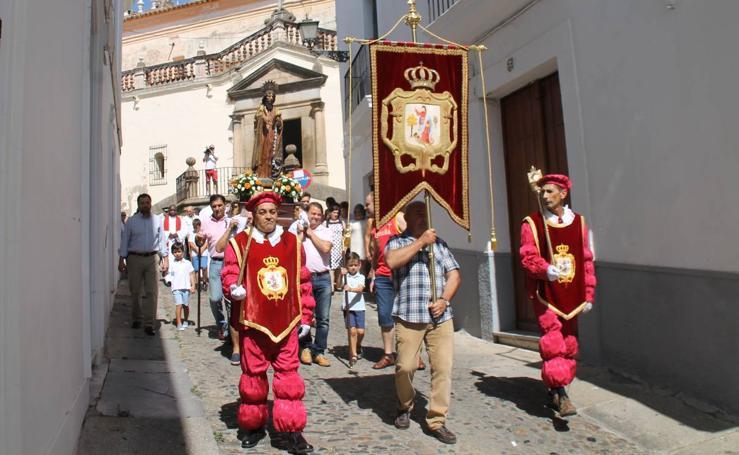 Jerez de los Caballeros honra a su patrón, San Bartolomé