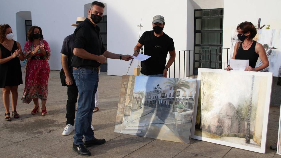 Francisco Javier Fernández gana el XVII Concurso de pintura al aire libre 'Francisco Benavides'