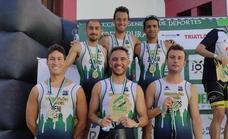 El Club Triatlón Jerez de los Caballeros, subcampeón de Extremadura en Triatlón Contrarreloj por equipos