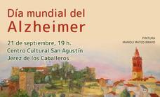 AFAD Jerez Sierra Suroeste conmemora este martes, 21 de septiembre, el Día Mundial del Alzhéimer