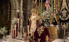 El triduo en honor del Santísimo Cristo en la Oración en el Huerto y Nuestra Señora del Rosario comienza este viernes