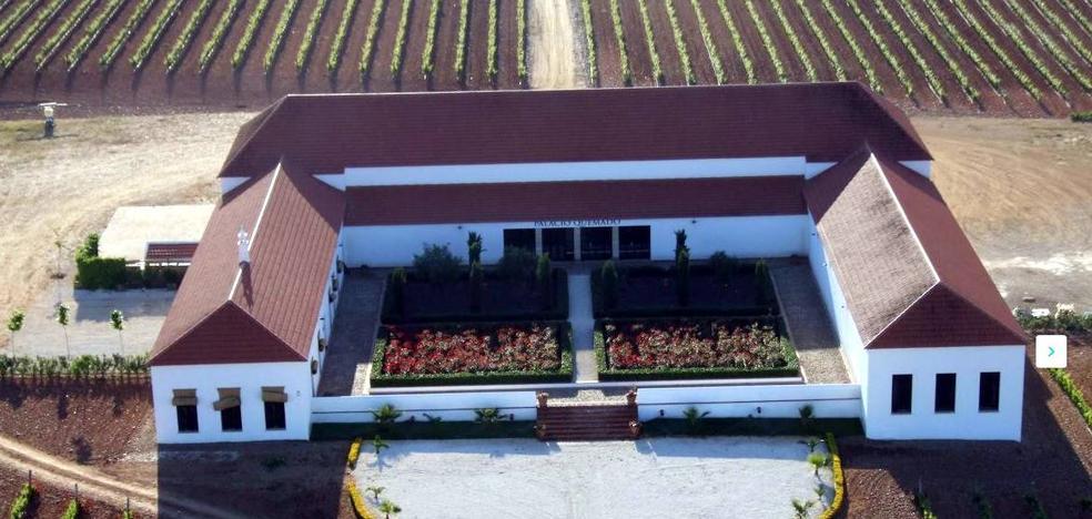 'Peñas Blancas' visita la bodega 'Palacio Quemado'