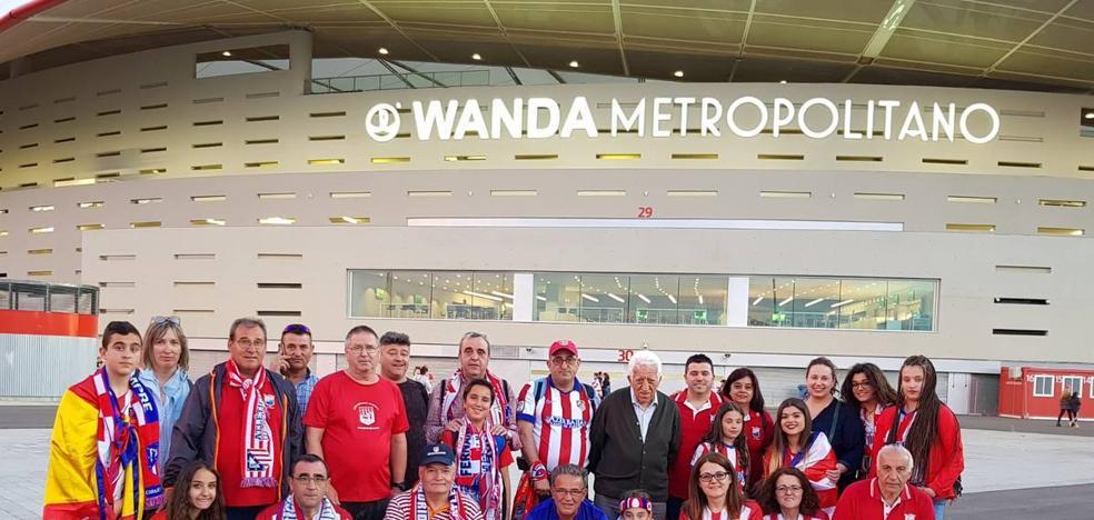 La Peña Atlética 'La Zarza' visita este sábado el Wanda Metropolitano