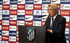 El presidente del Atlético de Madrid, Enrique Cerezo, estará el viernes en La Zarza