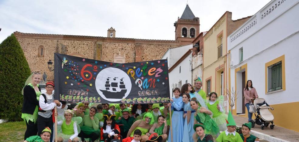 Color y fantasía en el carnaval escolar
