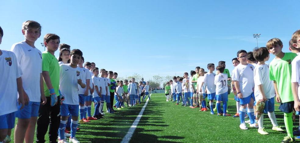 Este miércoles, torneo de fútbol alevín en la ciudad deportiva