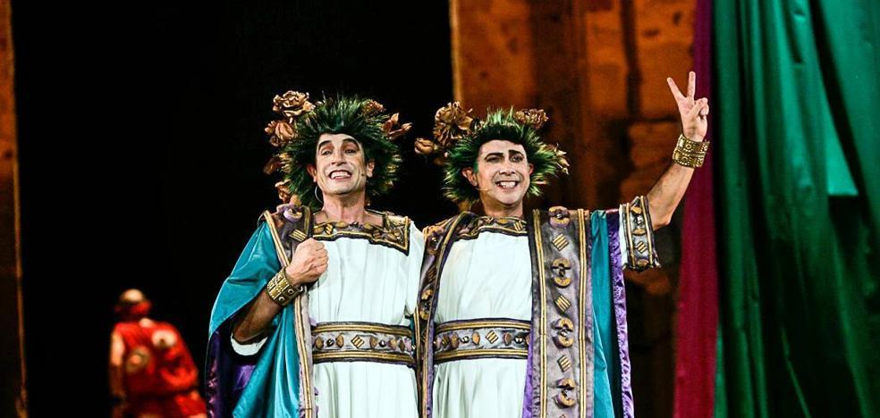La famosa obra de teatro clásico, 'Los gemelos', este domingo en el Auditorio