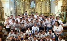 Ofrenda a la Virgen, recepción en el Ayuntamiento y baño en El Pilar