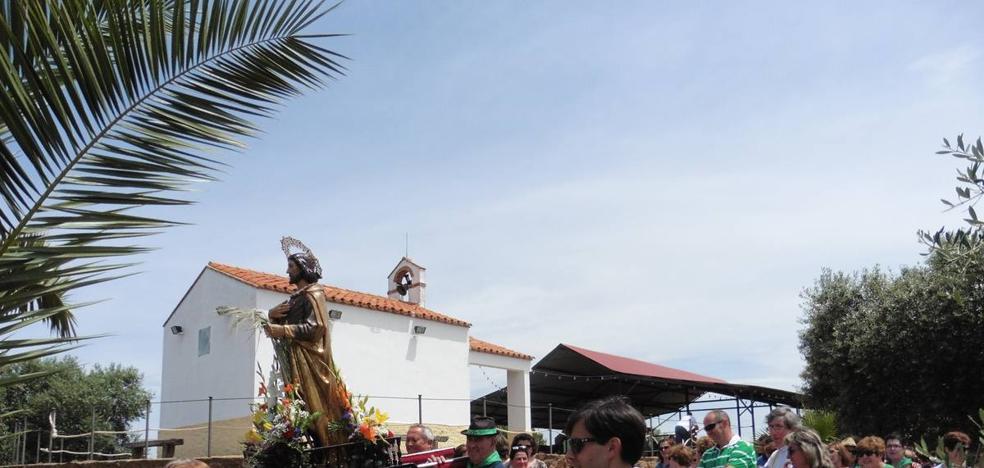 Todo listo para la romería de San Isidro